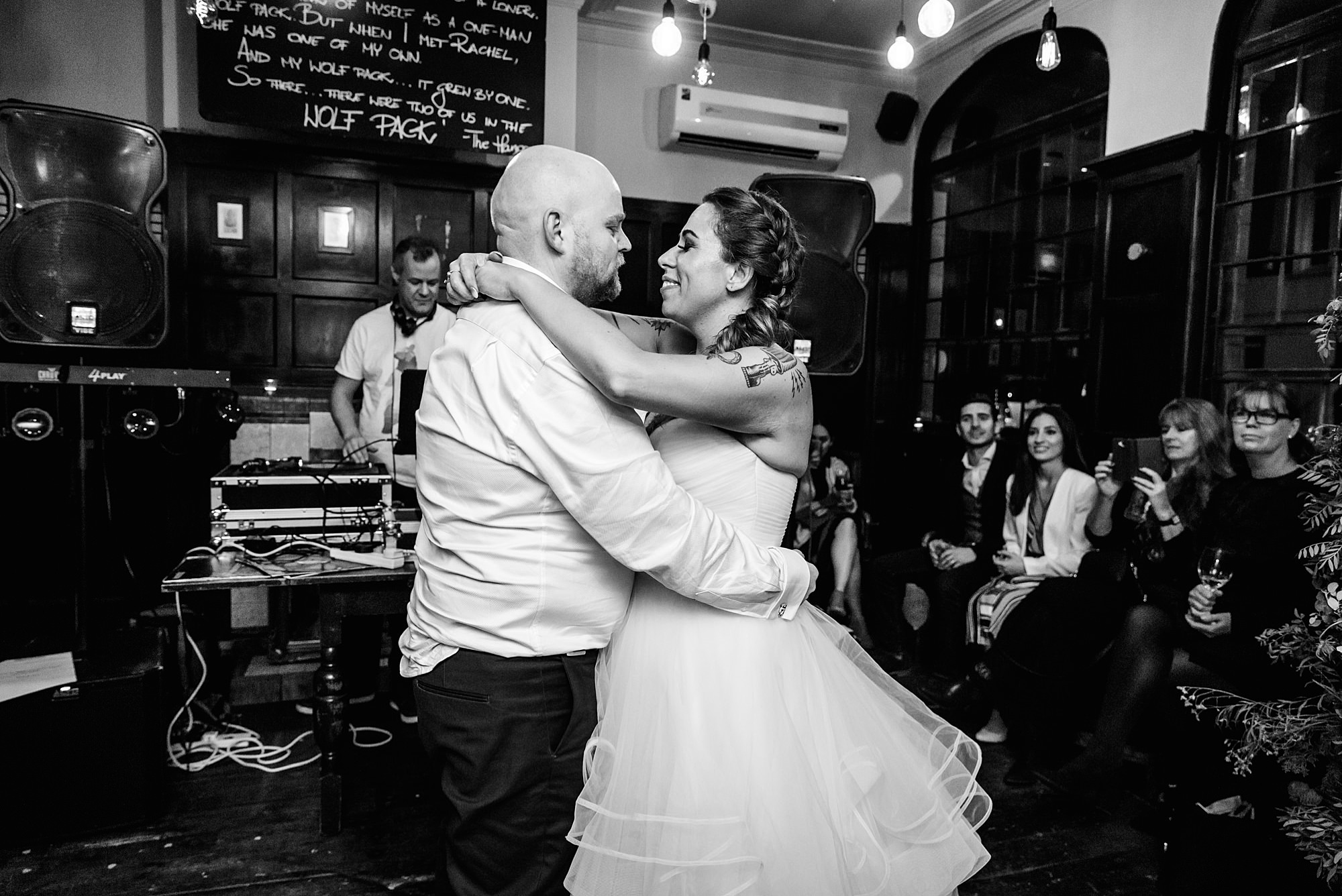 Prince albert camden wedding first dance