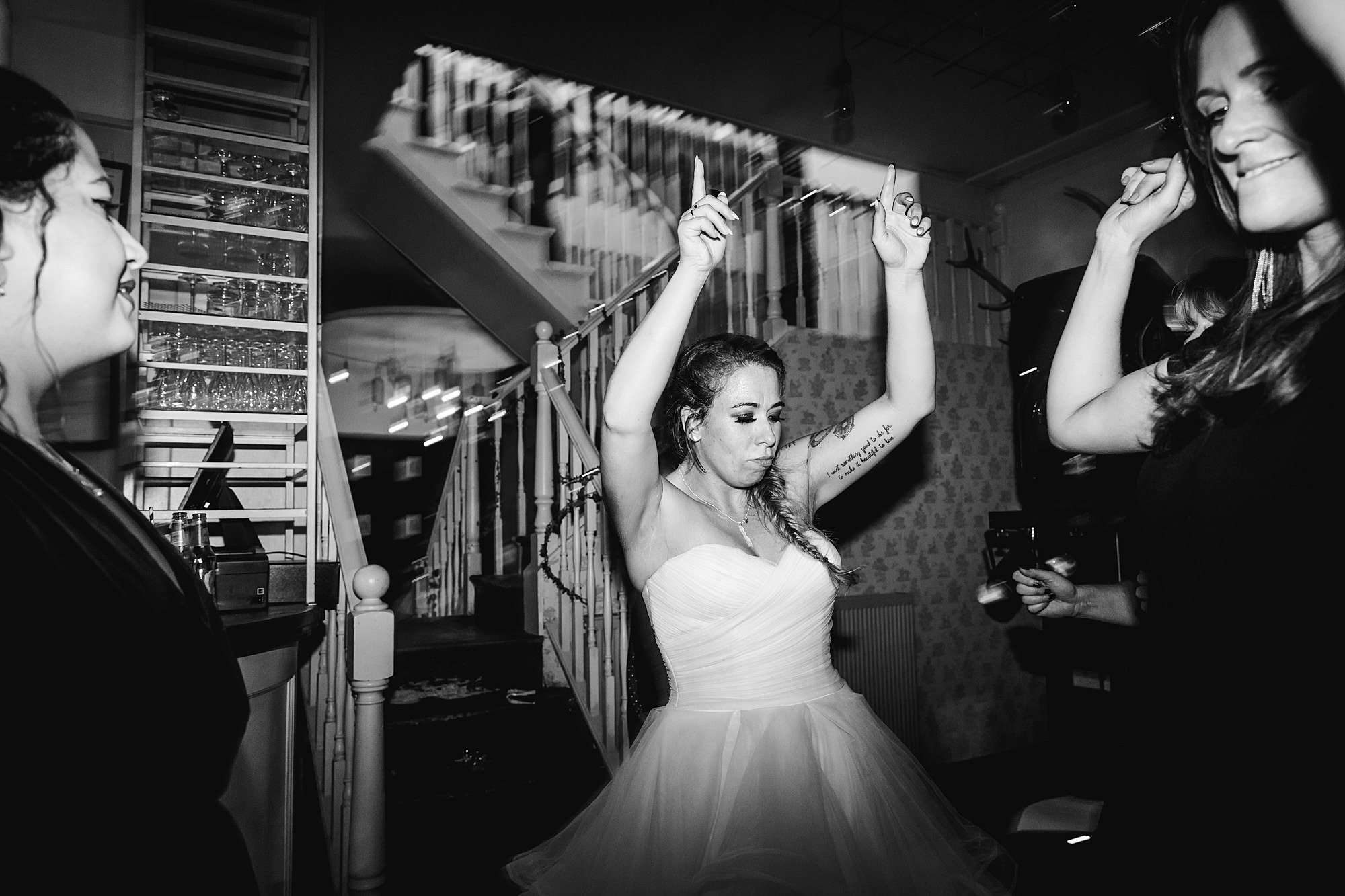 Prince albert camden wedding bride dancing