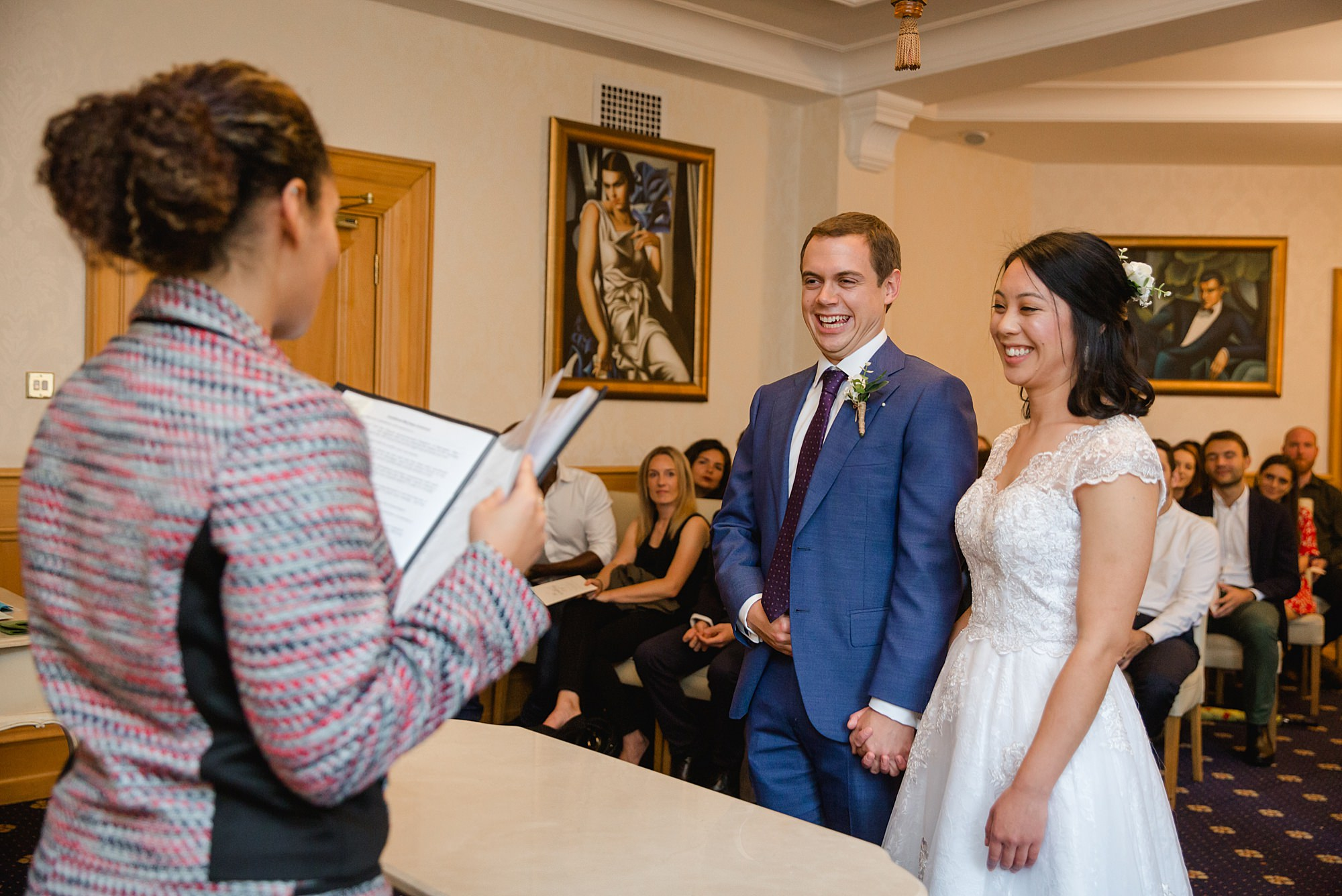 Wandsworth pub wedding ceremony at wandsworth town hall