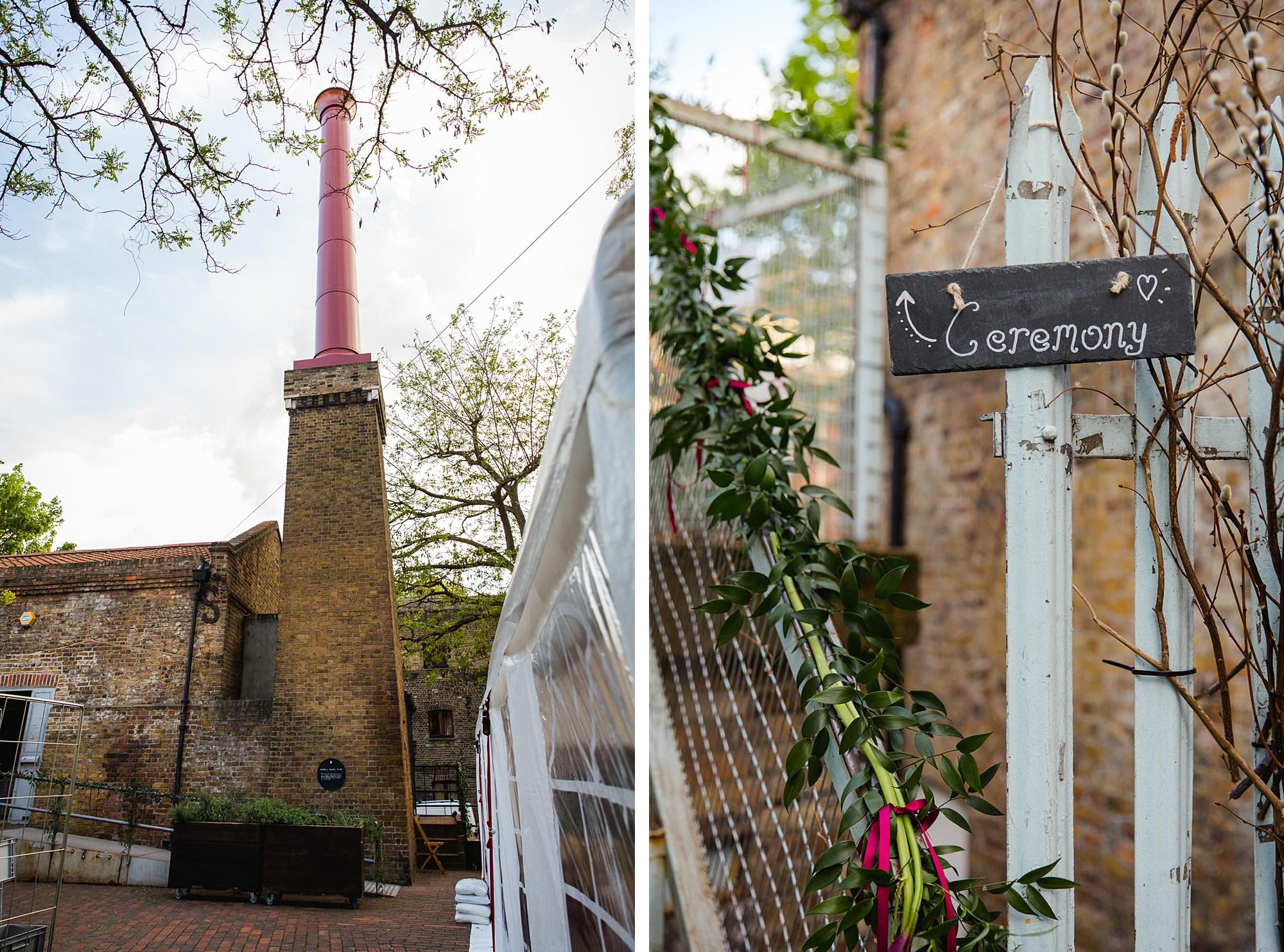 Brunel museum wedding venue