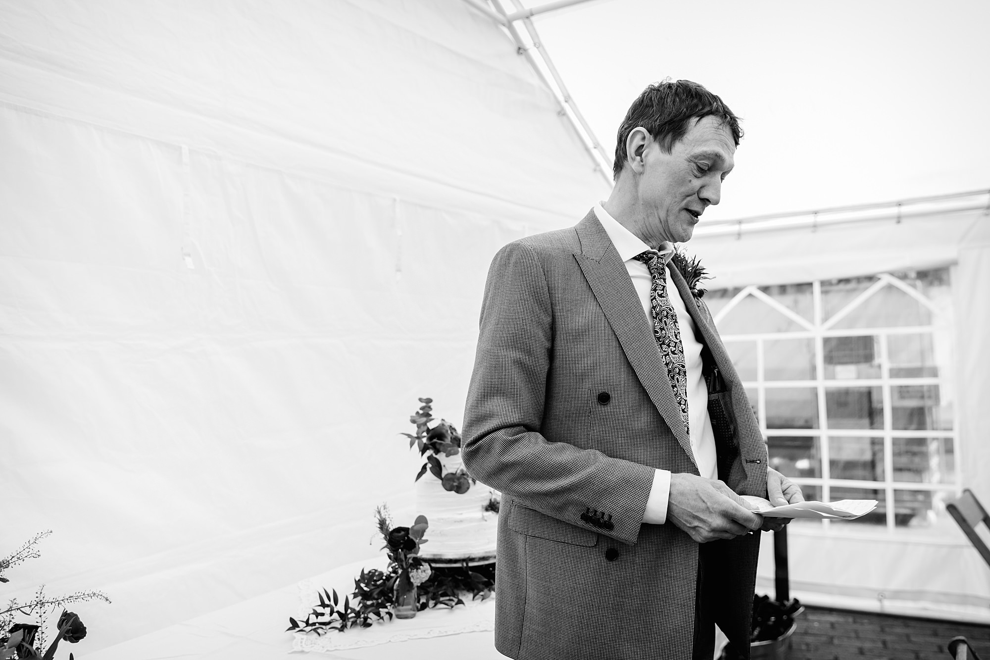 Brunel museum wedding father of bride speech