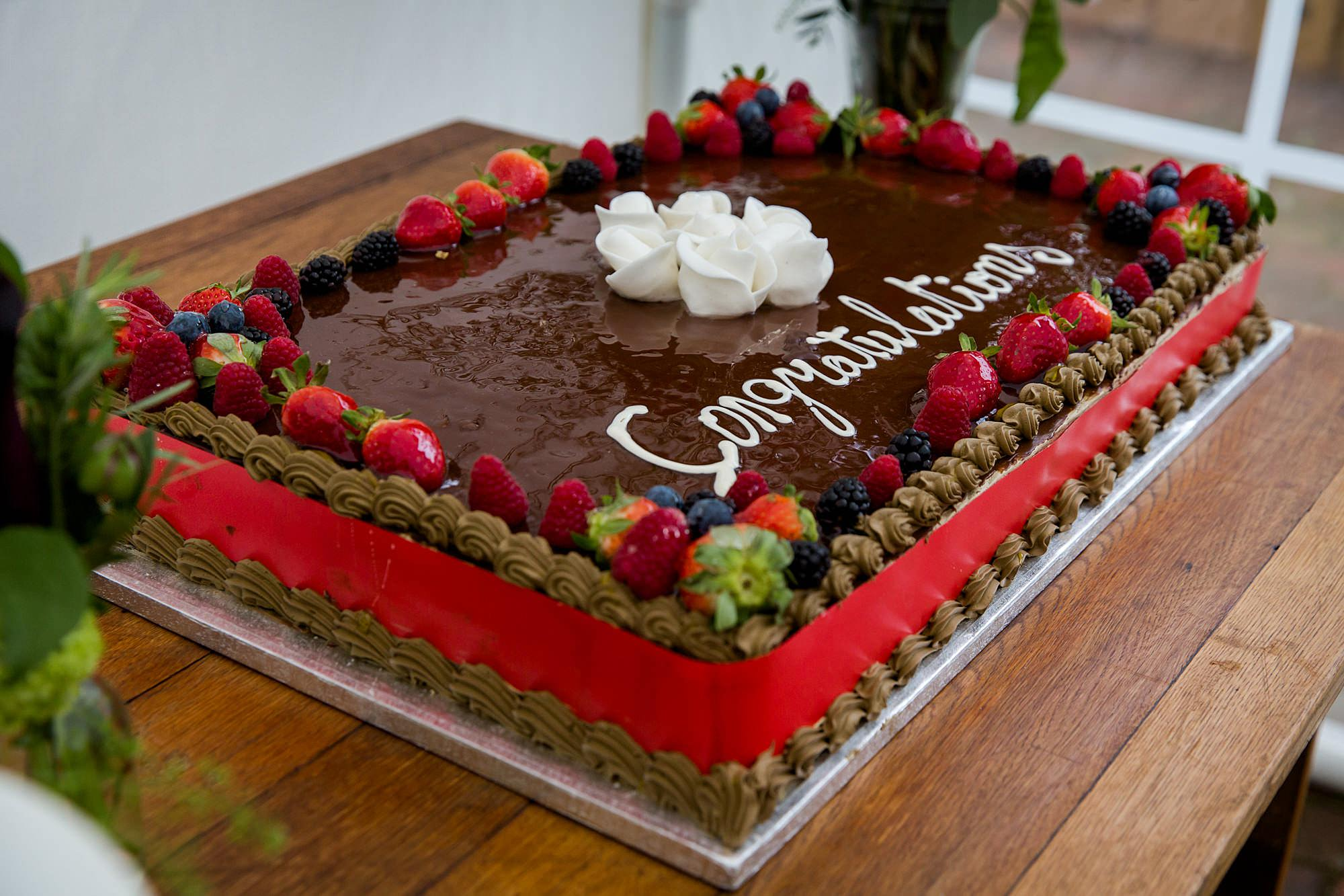 Brunel museum wedding cake