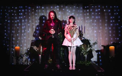 Gothic wedding London – Lisa & Jair at Islington Metalworks