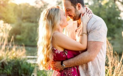 Summer evening engagement shoot – Natalie & Tom