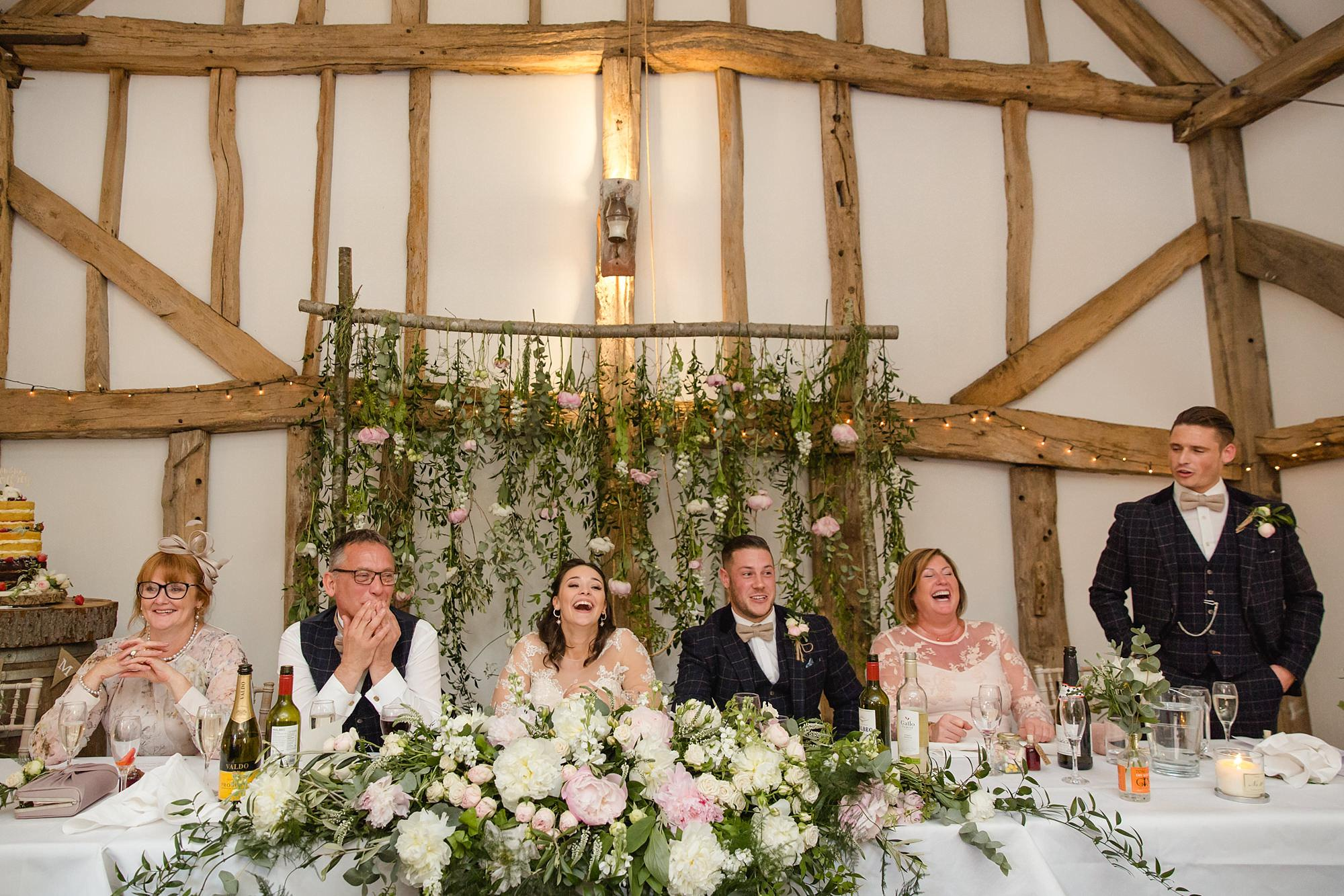 humanist wedding old greens barn best man speech